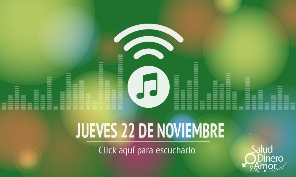 Programa jueves 22 de noviembre