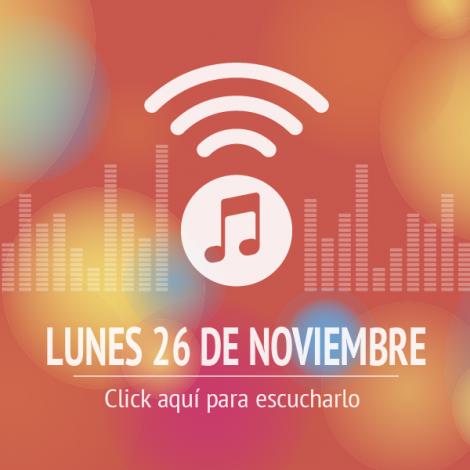 Programa Lunes 26 de Noviembre 2018