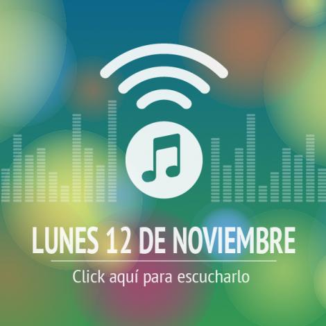 Programa 12 de Noviembre 2018