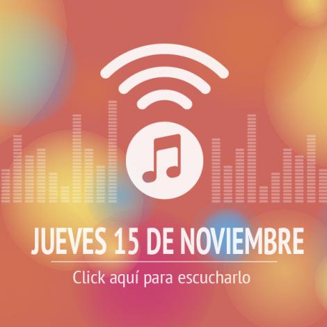 Programas 15 de Noviembre 2018
