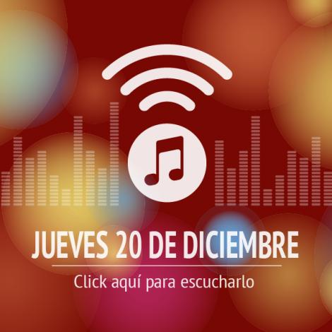 Programa 20 de Diciembre de 2018