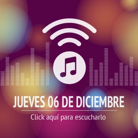 Programa 06 de Diciembre 2018