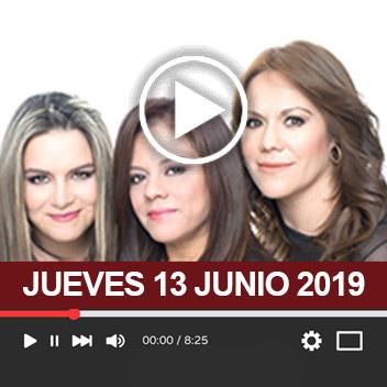 Programa Jueves 13 Junio 2019