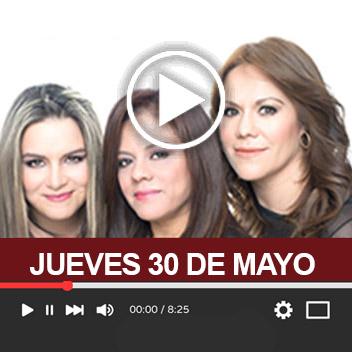 Programa Jueves 30 de Mayo 2019