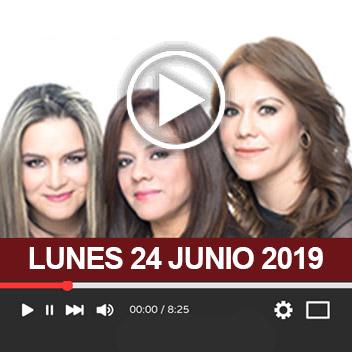 Programa Lunes 24 Junio 2019