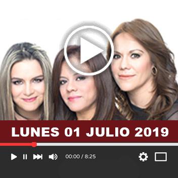 Programa Lunes 01 Julio 2019