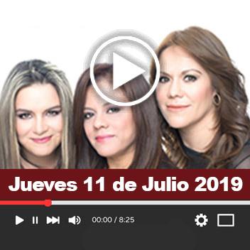 Programa Jueves 11 Julio 2019