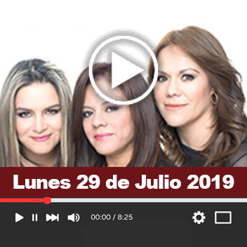 Programa Lunes 29 Julio 2019