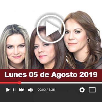 Programa Lunes 05 de Agosto 2019