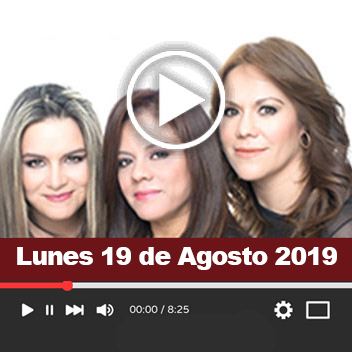 Programa Lunes 19 de Agosto 2019