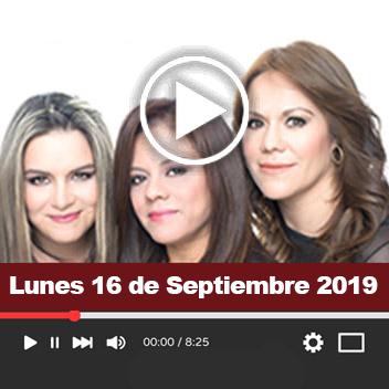 Programa Lunes 16 de Septiembre 2019