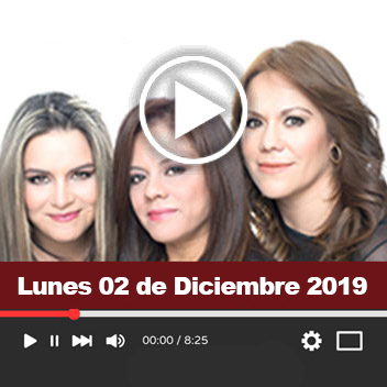 Programa Lunes 02 de Diciembre del 2019