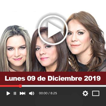 Programa Lunes 09 de Diciembre 2019