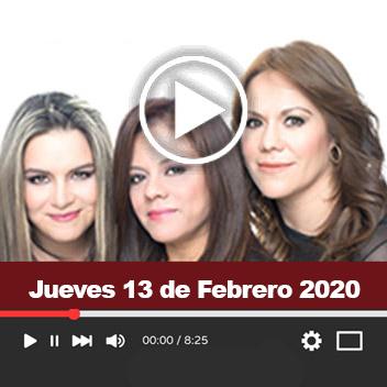 Programa Jueves 13 de Febrero 2020