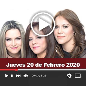 Programa Jueves 20 de Febrero 2020