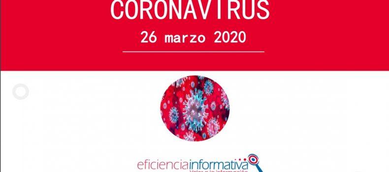 Coronavirus, Nueva Información