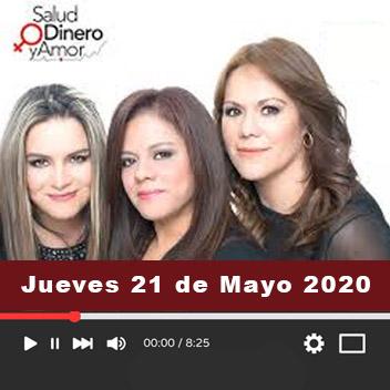 Programa Jueves, 21 de Mayo 2020