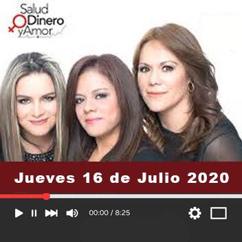 Programa Jueves 16 de Julio 2020