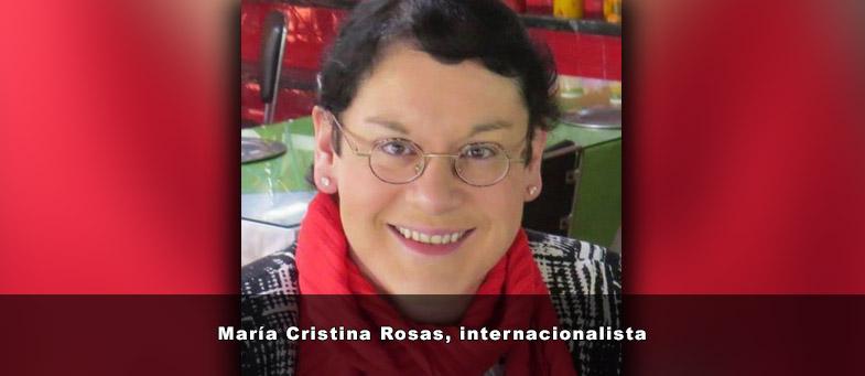 Entrevista con Cristina Rosas Internacionalista