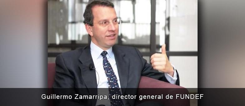 Entrevista con Guillermo Zamarripa, director general de FUNDEF